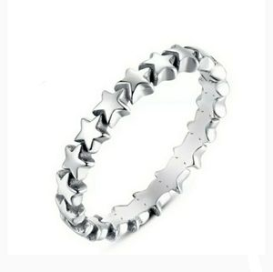 🆕️💍Beautiful star ring sterling silver
